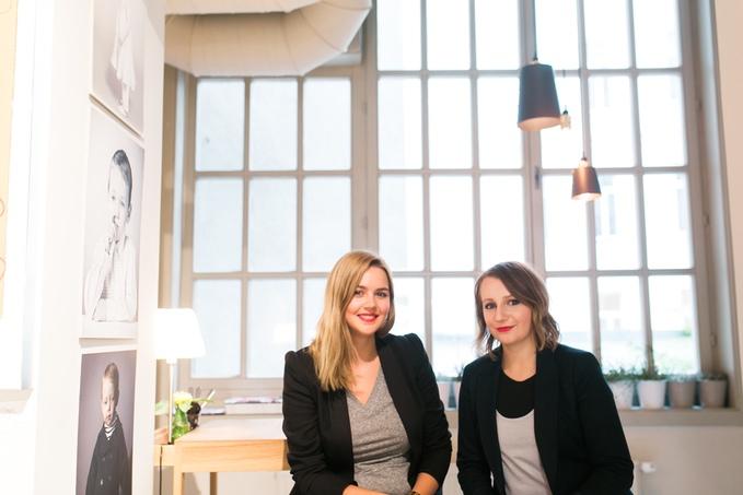 Melinda Borzsak und Lisa Oberndorfer.